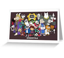 Undertale Greeting Card
