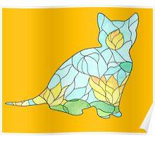 Kitten Glass Poster