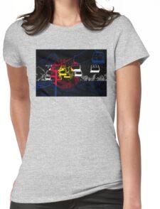 Colorado Ski Lift Womens Fitted T-Shirt