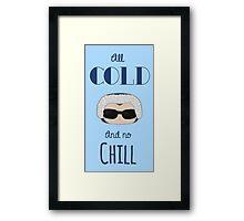 Captain Cold Framed Print