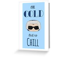 Captain Cold Greeting Card