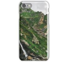 Mountains of Switzerland - Spectacular Rocky Green Alpine Landscape iPhone Case/Skin