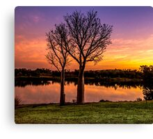 Sunset, Kununurra Canvas Print