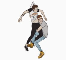 Louis and Liam Paperchildren by Channybee