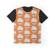 Pop art skull Graphic T-Shirt