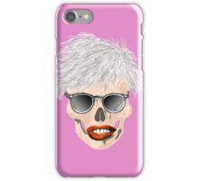 Pop art skull iPhone Case/Skin