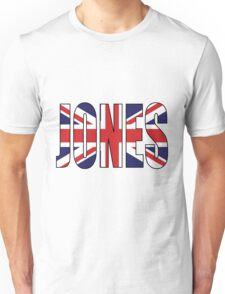Jones (UK) Unisex T-Shirt
