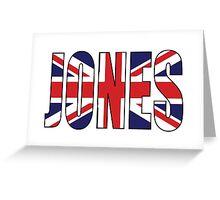 Jones (UK) Greeting Card