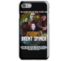Brent Spiner feat. Brent Spiner and Brent Spiner, A Movie by Brent Spiner iPhone Case/Skin
