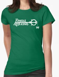 The Jungle King Womens Fitted T-Shirt