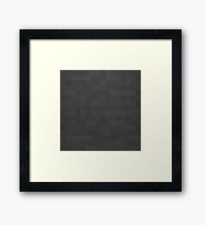 Minecraft Anvil Framed Print