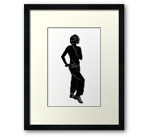 Athletic girl Framed Print