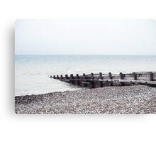 Beach - South of England Canvas Print
