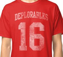 Deplorables 2016 Classic T-Shirt