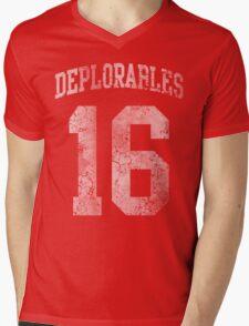 Deplorables 2016 Mens V-Neck T-Shirt