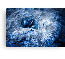 Tatio Geyser - Ice Canvas Print