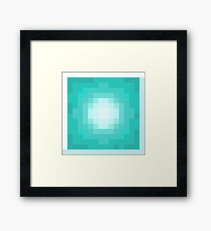 Minecraft Beacon Framed Print