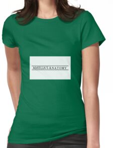 Amelia's Anatomy Womens Fitted T-Shirt