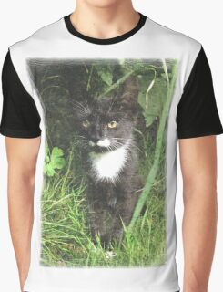 Kitten in the Woods Graphic T-Shirt