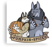 My Fair Were: Pumpkin Spice Canvas Print