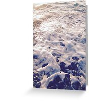 Florida Waves Greeting Card