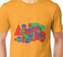 abstrakte Malerei Kunst Formen und Farben Unisex T-Shirt
