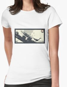 Uncharted 4   Adventure Trinity   ALT Womens Fitted T-Shirt