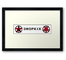 Space Dandy Dropkix Merch 2 Rough Style Framed Print
