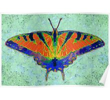 BUTTERFLY FORESEES A BREEZE Poster
