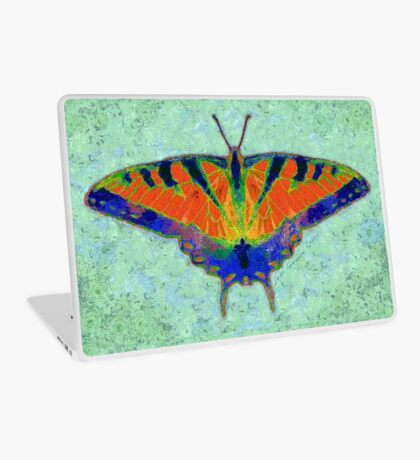 BUTTERFLY FORESEES A BREEZE Laptop Skin