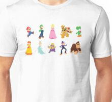 Minimalist Mario Party Unisex T-Shirt