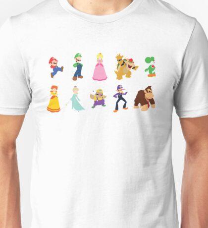 Minimalist Mario Party Unisex T-Shirt