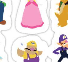 Minimalist Mario Party Sticker