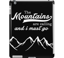 The Mountains iPad Case/Skin