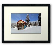 Japan alps Framed Print