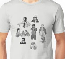 Stranger Things Character Sketches Unisex T-Shirt