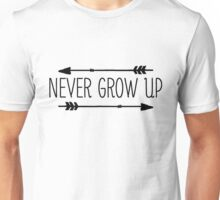 Never Grow Up Unisex T-Shirt