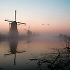 Dutch mills by hanspeters