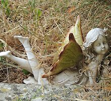 Churchyard Fairy by Alexandra Lavizzari