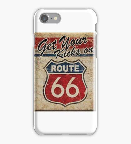 Route 66 Kicks iPhone Case/Skin