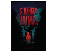 Stranger Things 11 Monster Photographic Print