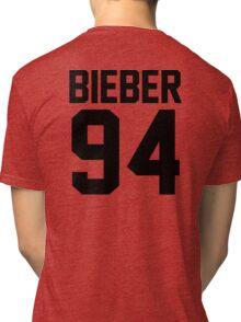 #JUSTINBIEBER Tri-blend T-Shirt