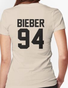 #JUSTINBIEBER Womens Fitted T-Shirt