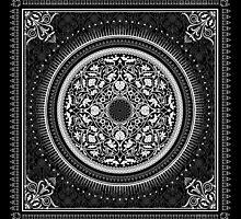 Indigo Home Medallion - White by Echolite