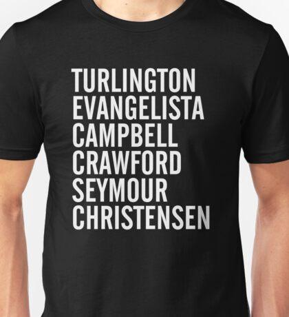 Turlington, Evangelista, Campbell, Crawford, Seymour & Christensen. (#Request) Unisex T-Shirt