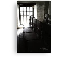 Blessed Chairs Canvas Print