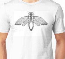 Cicada Bug Wing Illustration Unisex T-Shirt