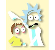 Rick and Morty: Mega Tree Seeds Photographic Print