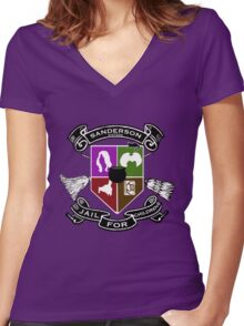 Sanderson Academy Women's Fitted V-Neck T-Shirt
