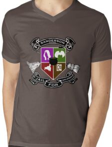 Sanderson Academy Mens V-Neck T-Shirt